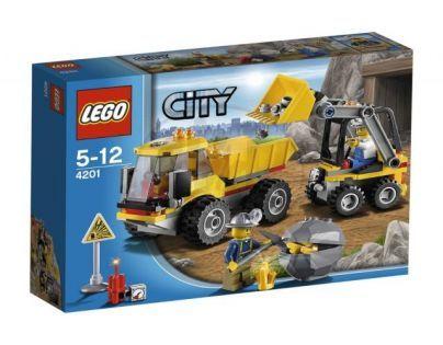 LEGO CITY 4201 Nakladač a sklápěčka