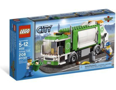 LEGO City 4432 Popelářský vůz