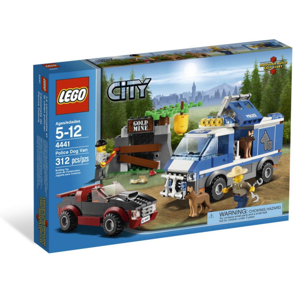 LEGO CITY 4441 Policejní dodávka pro psa