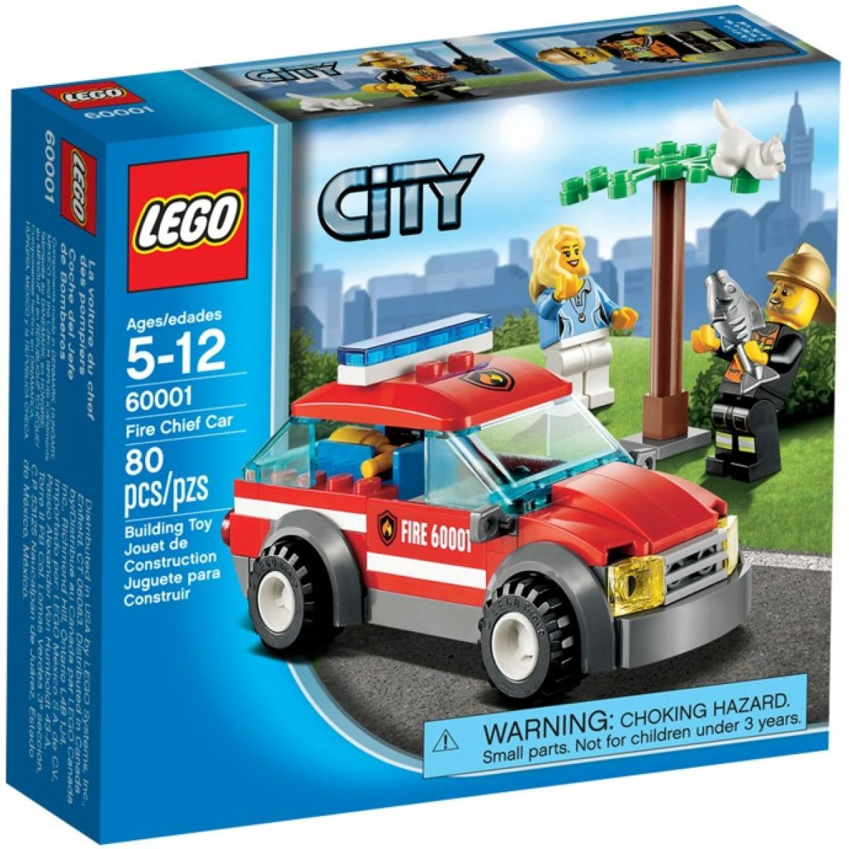 LEGO CITY 60001 Auto velitele hasičů