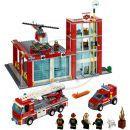 LEGO CITY 60004 Hasičská stanice 2
