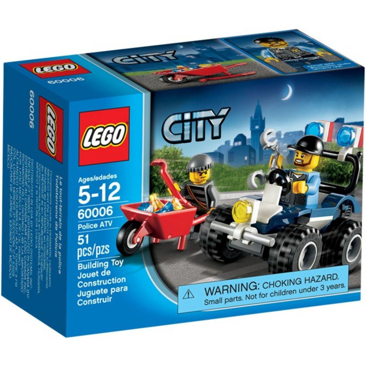 LEGO CITY 60006 Policejní čtyřkolka