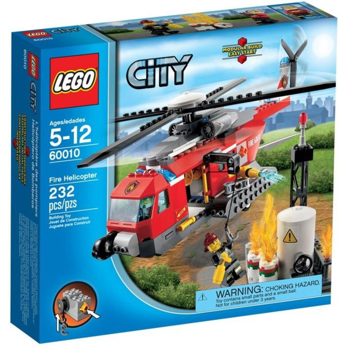 LEGO City 60010 Hasičská helikoptéra