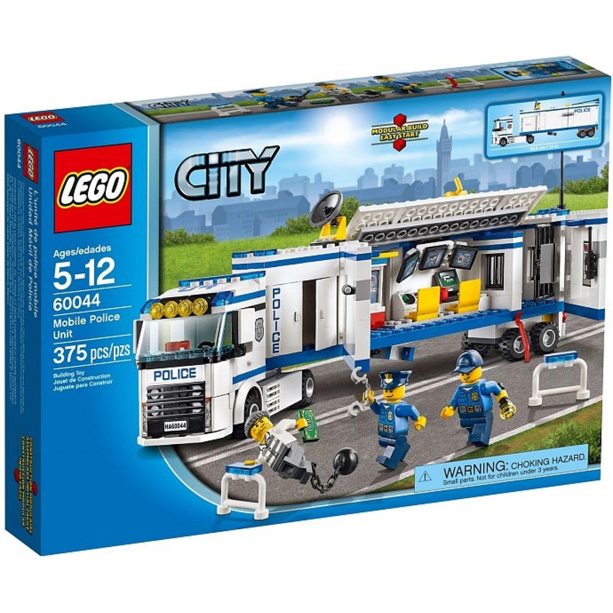 LEGO City 60044 Mobilní policejní stanice - Poškozený obal