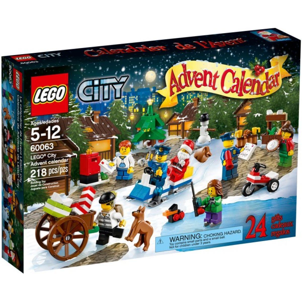 LEGO City 60063 - Adventní kalendář LEGO® City