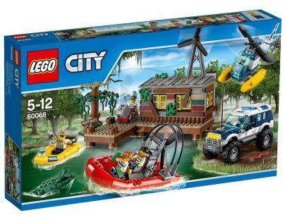 LEGO City 60068 Úkryt zlodějů - Poškozený obal
