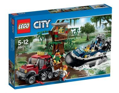 LEGO City Police 60071 - Zadržení vznášedlem
