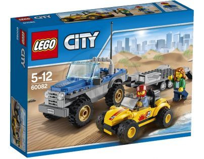 LEGO City Great Vehicles 60082 - Přívěs pro buginu do dun