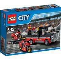 LEGO City Great Vehicles 60084 - Přepravní kamión na závodní motorky