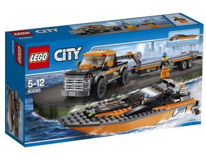 LEGO City Great Vehicles 60085 - Motorový člun 4x4