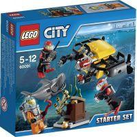 LEGO City 60091 Hlubinný mořský výzkum: startovací sada