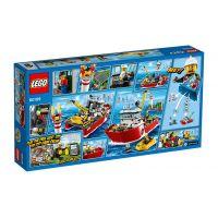 LEGO City 60109 Hasičský člun - Poškozený obal 2