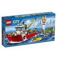 LEGO City 60109 Hasičský člun - Poškozený obal