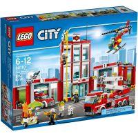 LEGO City 60110 Hasičská stanice - Poškozený obal