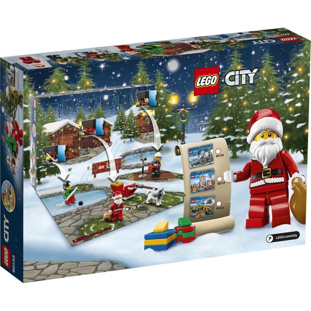LEGO City 60133 Adventní kalendář - Poškozený obal