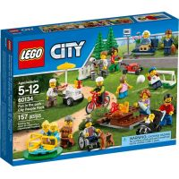 LEGO City 60134 Zábava v parku Lidé z města