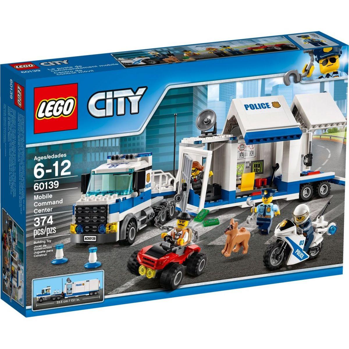 LEGO City 60139 Mobilní velitelské centrum