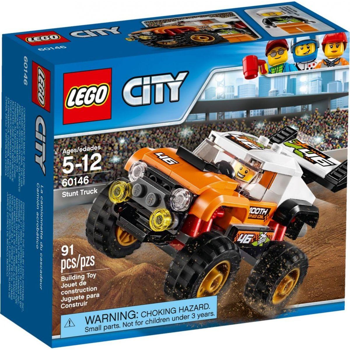 LEGO City 60146 Náklaďák pro kaskadéry