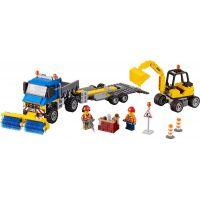 LEGO City 60152 Zametací vůz a bagr 2