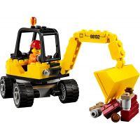 LEGO City 60152 Zametací vůz a bagr 6