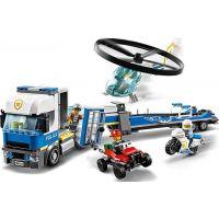 LEGO City 60244 Preprava policajnej helikoptéry - Poškodený obal 4
