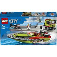 LEGO City 60254 Preprava pretekárskeho člnu - Poškodený obal 2