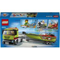 LEGO City 60254 Preprava pretekárskeho člnu - Poškodený obal 3