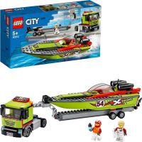 LEGO® City 60254 Preprava pretekárskeho člnu