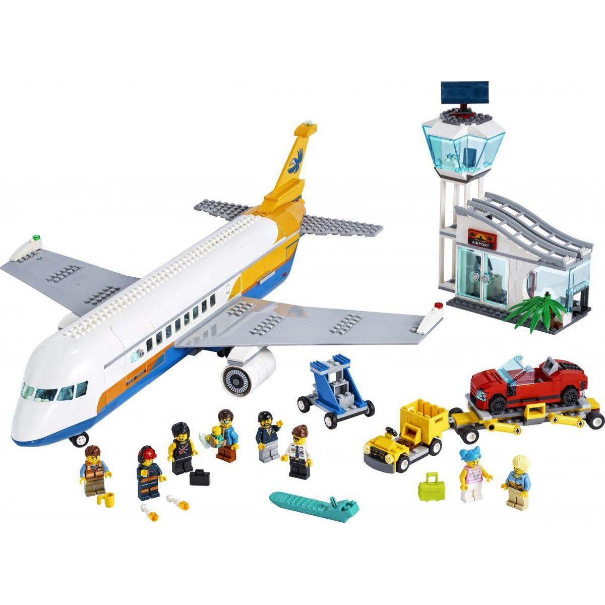 LEGO City 60262 Osobné lietadlo - Poškodený obal