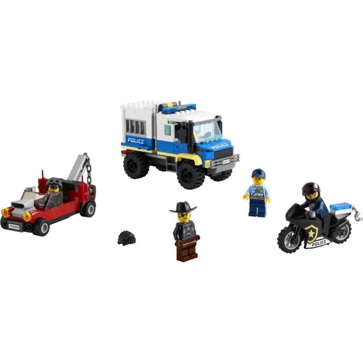 LEGO City 60276 Transportér pre väzňov