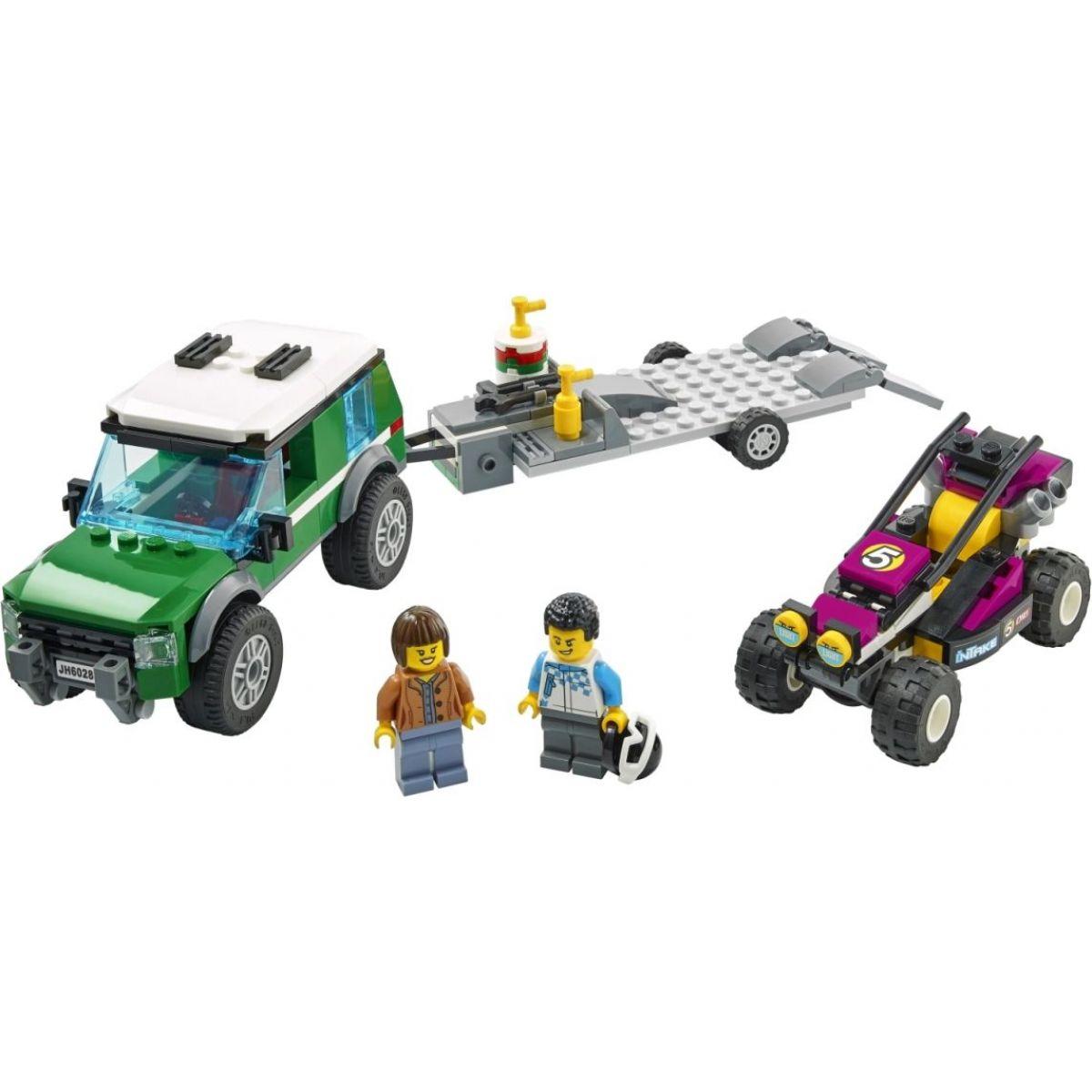 LEGO City 60288 Preprava pretekárskych bugín