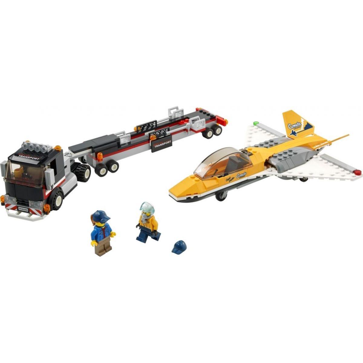 LEGO City 60289 Transport akrobatickej stíhačky