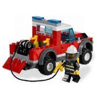 LEGO CITY 7213 Hasičské auto se člunem 2