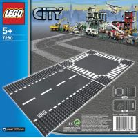 LEGO CITY 7280 Rovná trasa a křižovatka