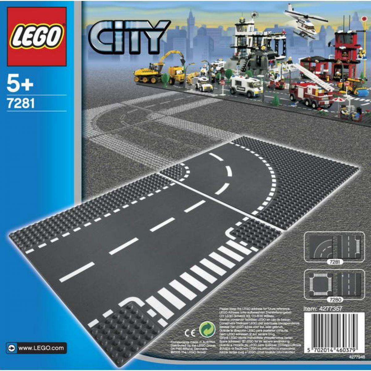 LEGO CITY 7281 Rovná trasa a křižovatka ve tvaru T