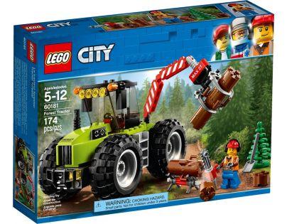 LEGO City Great Vehicles 60181 Traktor do lesa