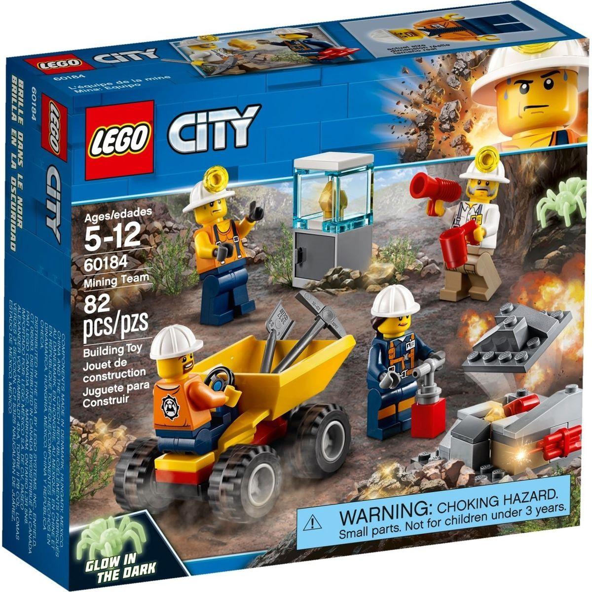 LEGO City Mining 60184 Důlní tým