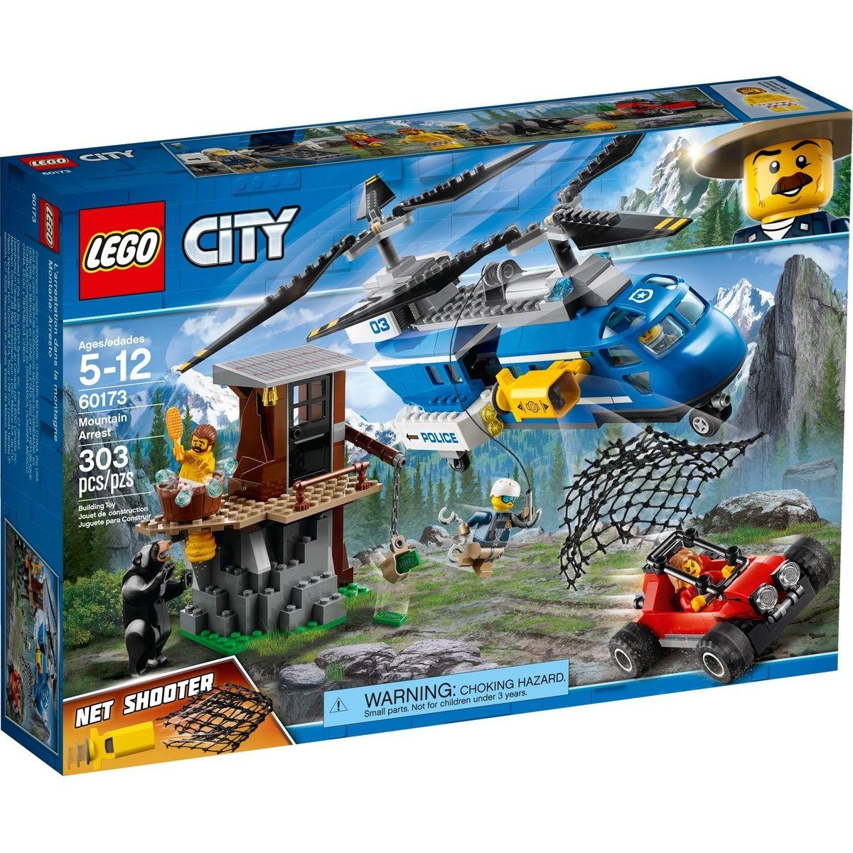 LEGO City Police 60173 Zatčení v horách - Poškozený obal
