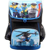 LEGO CITY Police Chopper Maxi školní aktovka 2 dílný set 2