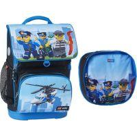LEGO City Police Chopper Optimo školní aktovka 2 dílný set