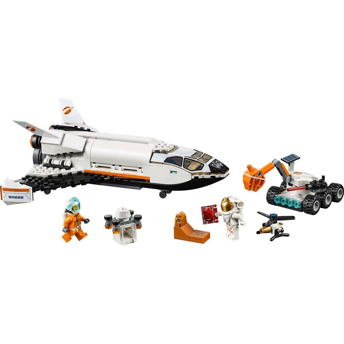 LEGO City Space Port 60226 Raketoplán zkoumající Mars