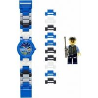 LEGO City Special Policeman - hodinky s minifigurkou