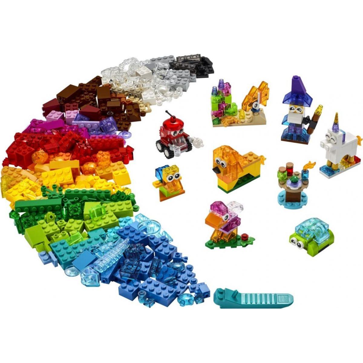 LEGO Classic 11013 Priehľadné kreatívne kocky