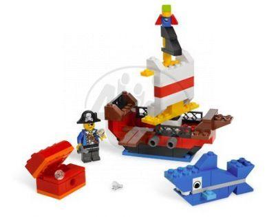 LEGO Kostičky 6192 Piráti stavební sada