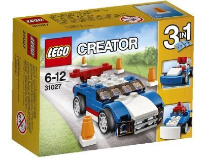 LEGO Creator 31027 - Modrý závoďák