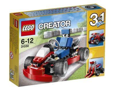 LEGO Creator 31030 - Červená motokára
