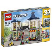 LEGO Creator 31036 - Obchod s hračkami a potravinami