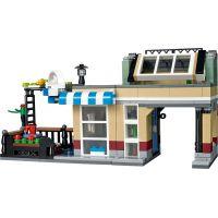 LEGO Creator 31065 Městský dům se zahrádkou 4