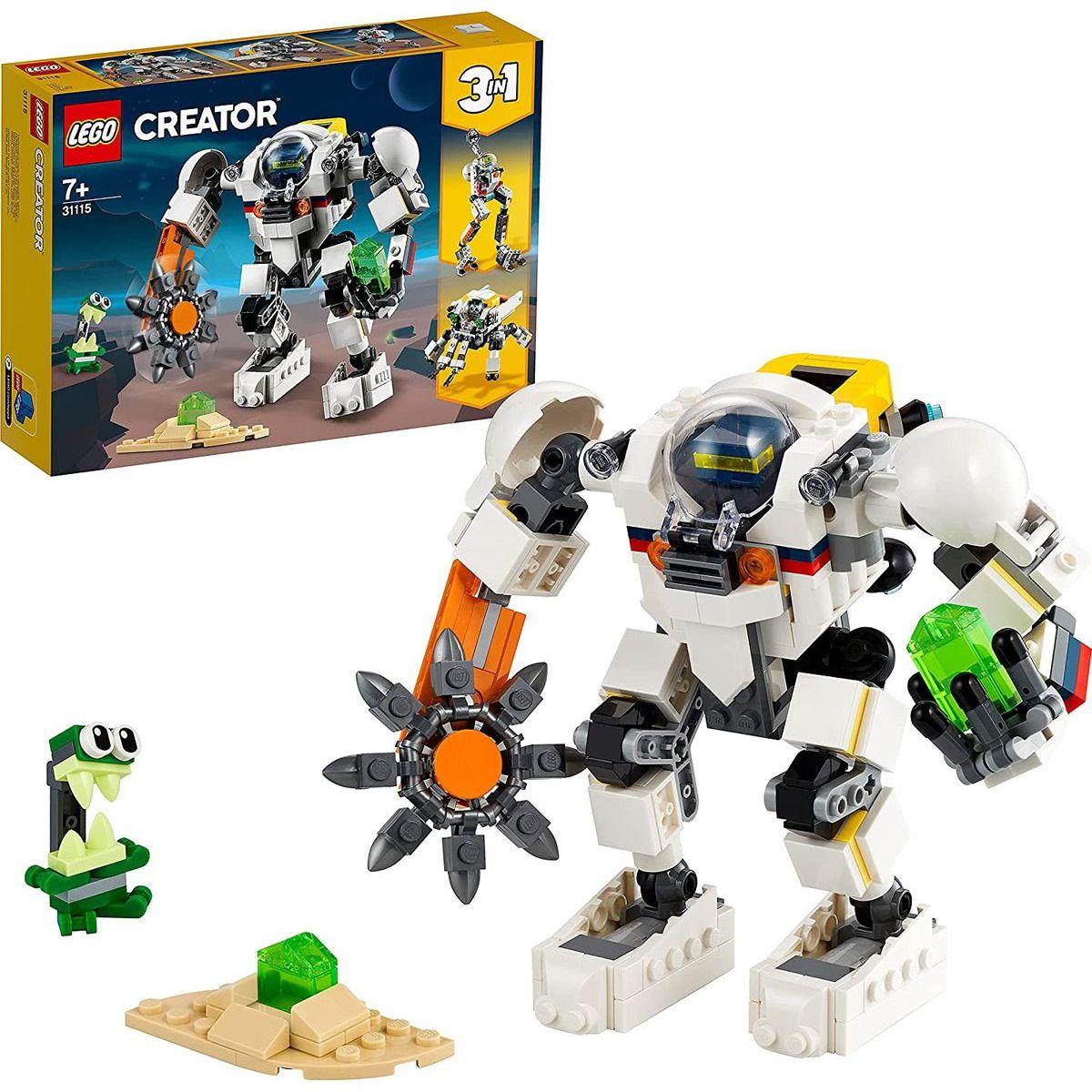 LEGO® Creator 31115 Vesmírny ťažobný robot