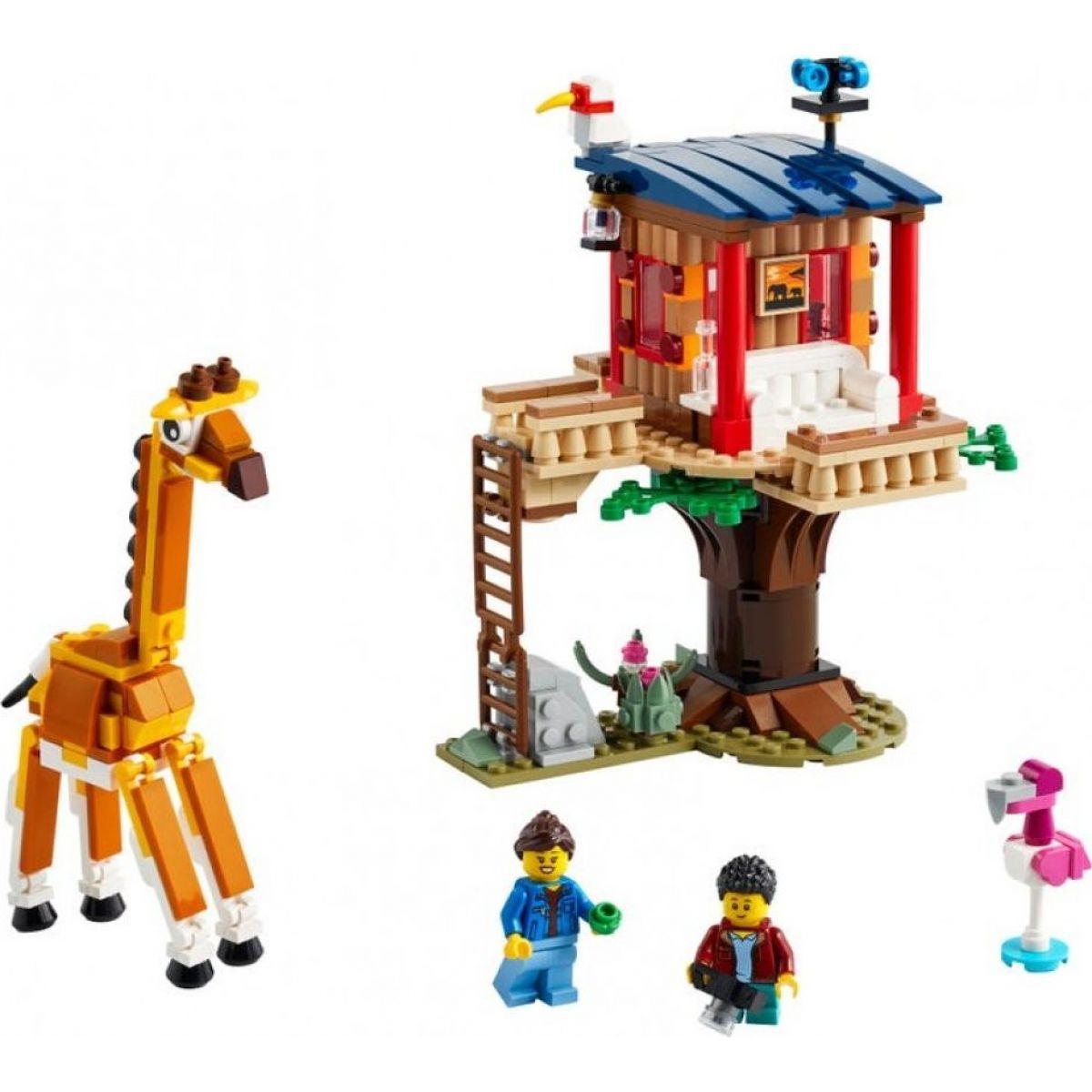LEGO Creator 31116 Safari domček na strome  - Poškodený obal